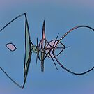 Reed Geometry Abstract by Floyd Hopper