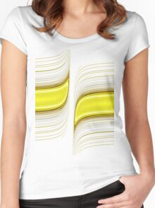Lines 0001 Women's Fitted Scoop T-Shirt
