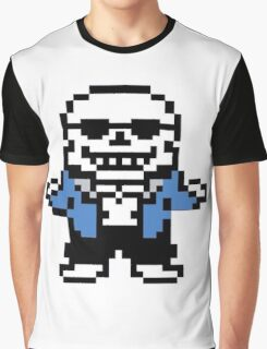 Sans - Ba dum tsss Graphic T-Shirt