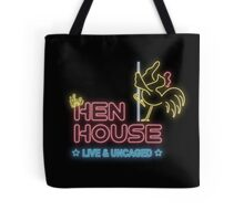 The Hen House; Live Chicken Strip Tote Bag