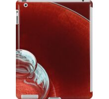 Reflecting on Red iPad Case/Skin