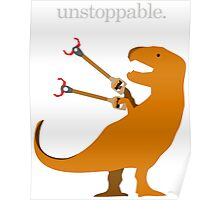 T-Rex Unstoppable Poster