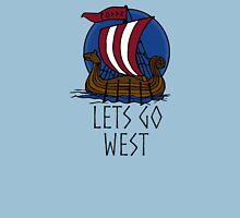 Vikings! lets go west Unisex T-Shirt