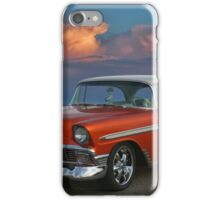 1956 Chevy Belair HDR iPhone Case/Skin