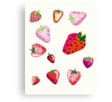 Strawberry Spectacular  Canvas Print