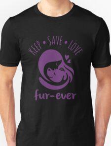 Keep Save Love Fur-ever Unisex T-Shirt