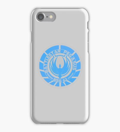 Battlestar Pegasus Logo iPhone Case/Skin