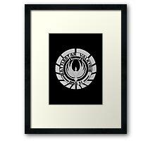Battlestar Valkyrie Logo Framed Print