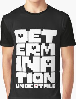 Undertale - Determination Graphic T-Shirt