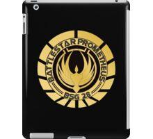 Battlestar Prometheus Golden Logo iPad Case/Skin