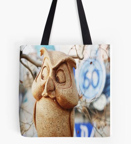 60th Owl Tote Bag