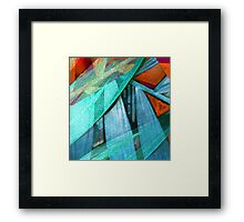 Primary - Abstract  Framed Print
