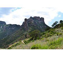 Big Bend Landscape 6 Photographic Print