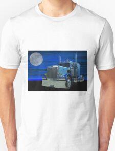 Peterbilt in the Moonlight Unisex T-Shirt