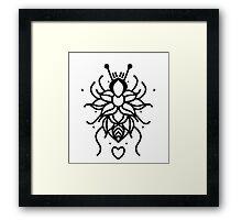 Flower Bug Framed Print