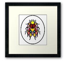Flower Bug #2 Framed Print