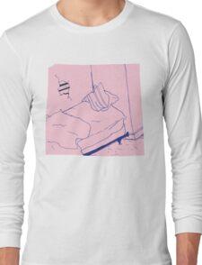 Teen Suicide AKA Julia Brown waste yrself Long Sleeve T-Shirt