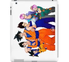 Super Saiyans iPad Case/Skin
