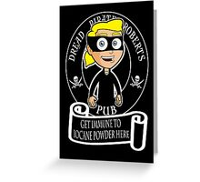 Dread Pirate Pub Greeting Card