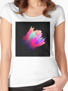 Abstract 38 Women's Fitted Scoop T-Shirt