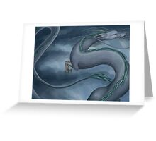 Haku the Dragon Greeting Card