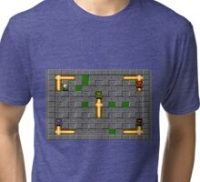 Bomberman Board Tri-blend T-Shirt