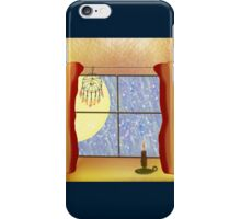 A Warm Winter Refuge - Dreamcatcher and Candle Flame iPhone Case/Skin