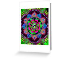 GREEN UNIVERSE Greeting Card