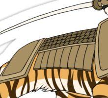 Samurai Tiger Sticker