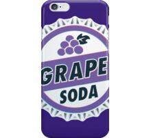 Up Movie Grape Soda bottle cap iPhone Case/Skin