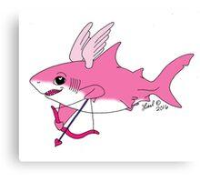 Cupid Shark Canvas Print