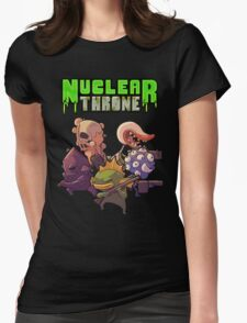 Nuclear Throne All Char Womens Fitted T-Shirt
