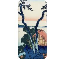 Katsushika Hokusai - Lake Suwa in the Shinano Province iPhone Case/Skin