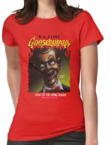 Goosebumps - Night of The Living Dummy Womens Fitted T-Shirt