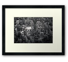 Empty Eyes Framed Print