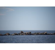 Rock Wall Photographic Print