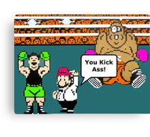 MIke Tyson's Knockout NES Classic video game Canvas Print