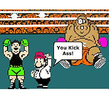 MIke Tysons Punchout  NES Classic video game Photographic Print