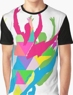 Color Me Ballet Graphic T-Shirt