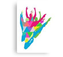 Color Me Ballet Canvas Print
