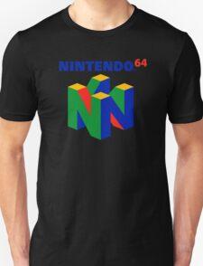 Nintendo 64 N64 Classic Video Game Unisex T-Shirt