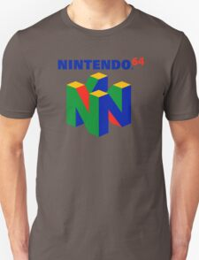 Nintendo 64 N64 Classic Video Game Unisex T-Shirt