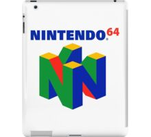 Nintendo 64 N64 Classic Video Game iPad Case/Skin