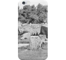Fallen Columns, Olympia, Greece iPhone Case/Skin