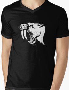 Smilodon Mens V-Neck T-Shirt