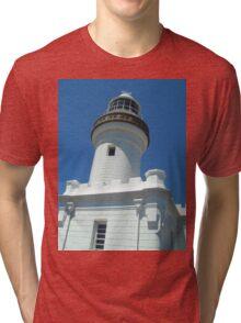 White lighthouse Tri-blend T-Shirt