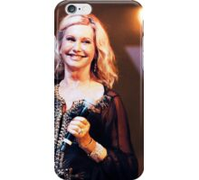 Olivia Newton-John in Concert iPhone Case/Skin