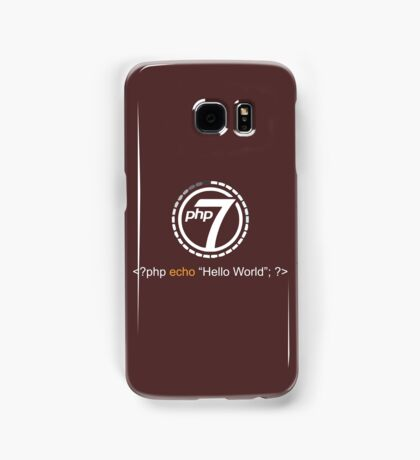 Php 7 Programming T-shirt - Unique Gift for Programmer Samsung Galaxy Case/Skin
