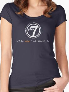 Php 7 Programming T-shirt - Unique Gift for Programmer Women's Fitted Scoop T-Shirt