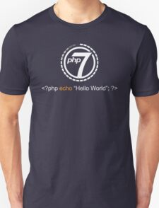Php 7 Programming T-shirt - Unique Gift for Programmer Unisex T-Shirt